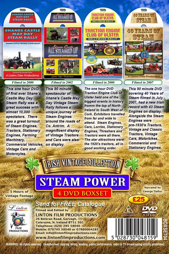 Steam Power 4 DVD Boxset DVD - Local Interest